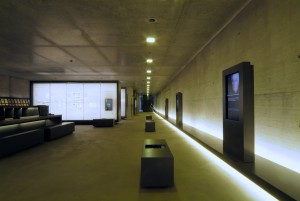 Exhibition section on the history of the POW camp, 2007. Photo by Klemens Ortmeyer. Bergen-Belsen Memorial (Lower Saxony Memorials Foundation)