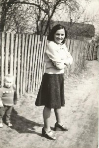Zofia Listosz when she was young